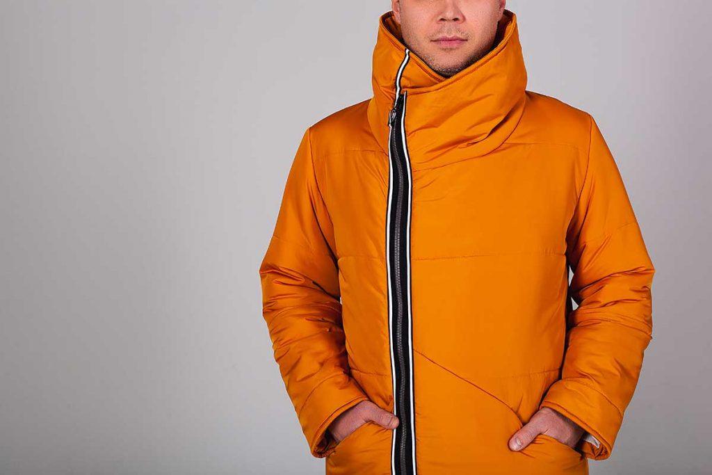 ترکیب رنگ نارنجی برای آقایان