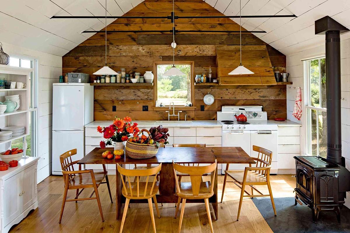 سبک روستیک در آشپزخانه