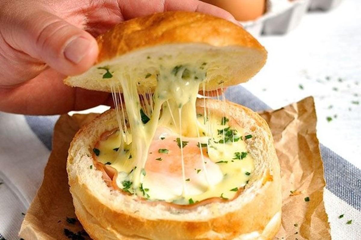 غذای پنیری