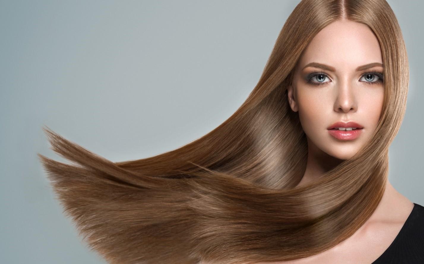 موهای صاف و لخت
