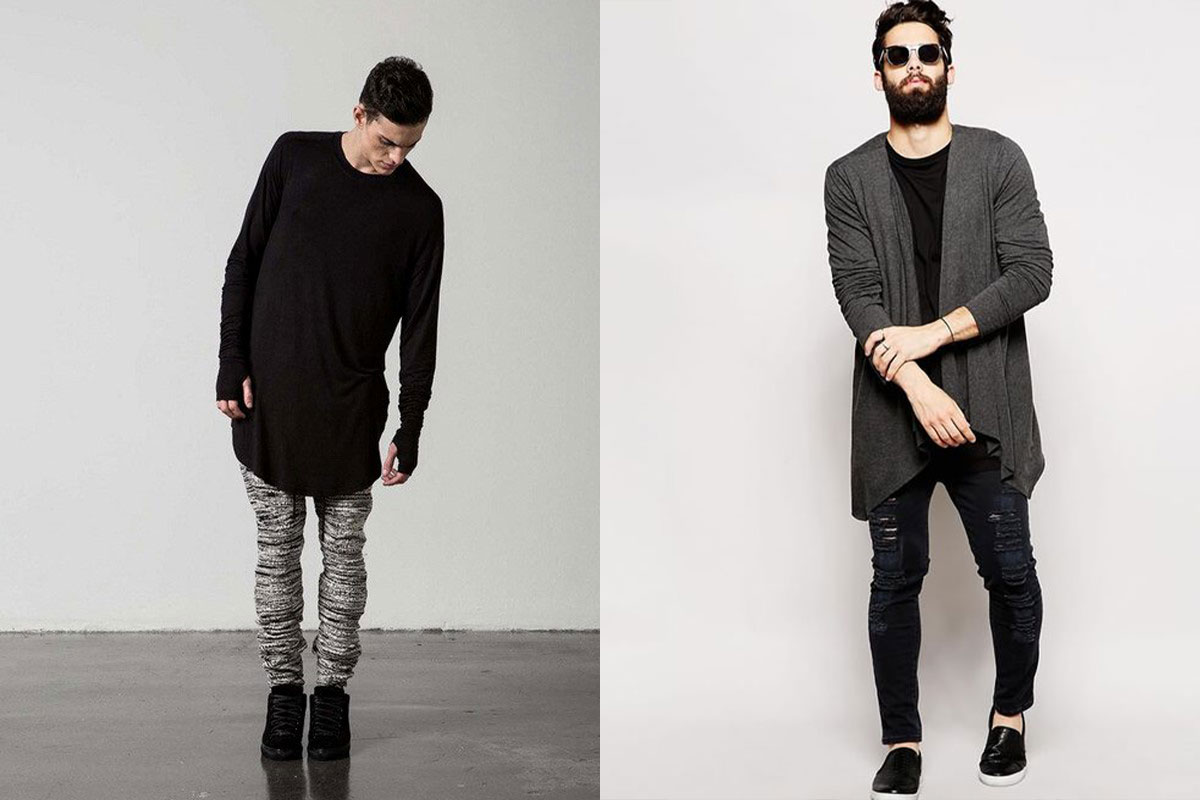 ژاکت بلند مردانه