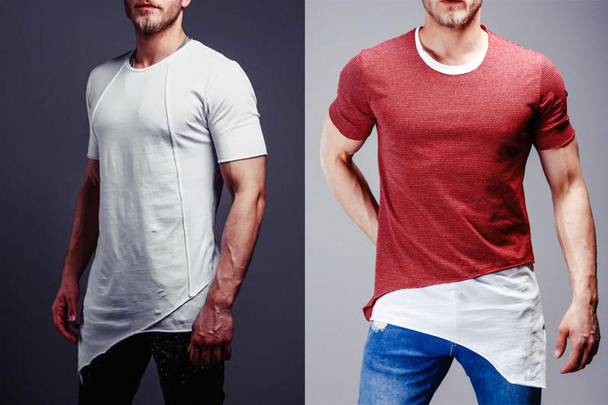 مدل تیشرت بلند مردانه