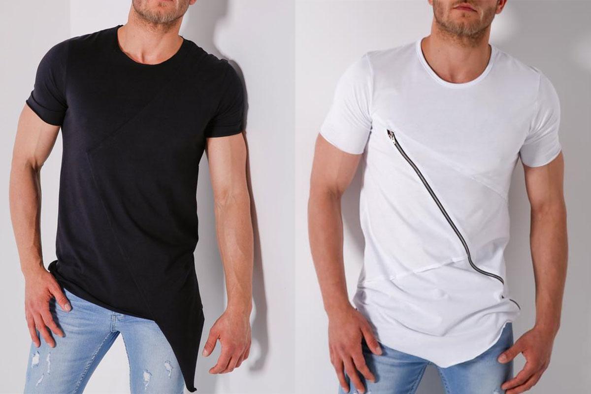 تیشرت لانگ مردانه