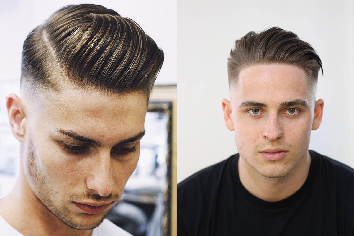 مدل موی مردانه برای صورت کشیده