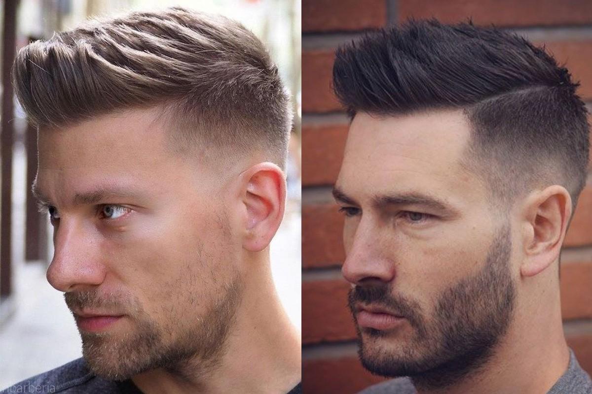 مدل موی یکطرفه مردانه