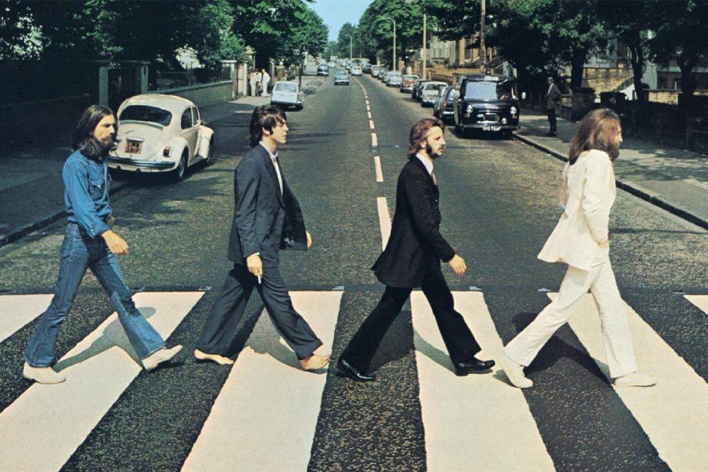 عکس معروف گروه بیتلز