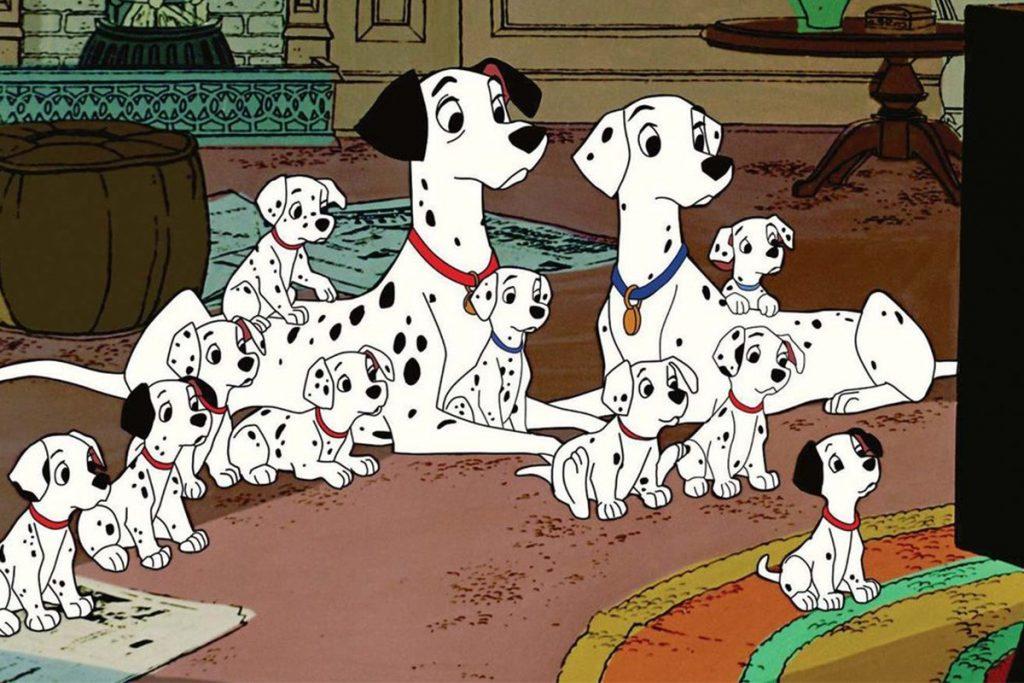 انیمیشن 101 سگ خالدار