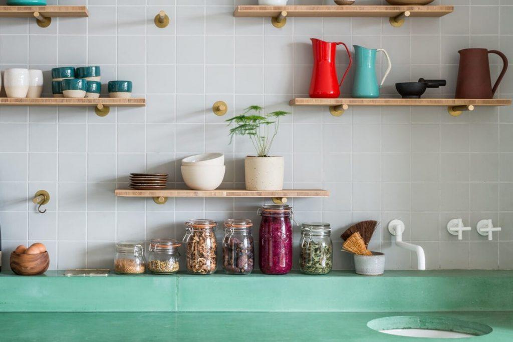 دکوراسیون آشپزخانه های کوچک ایرانی
