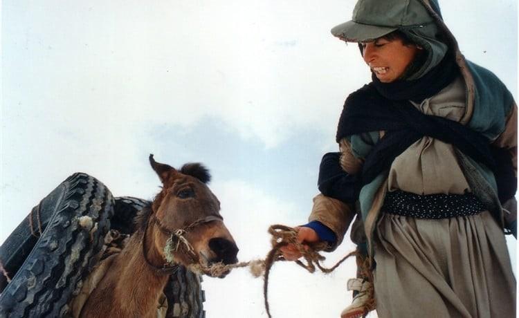 زمانی برای مستی اسبها اولین فیلم بلند سینمایی