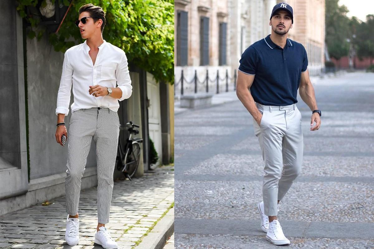 شلوار پارچه ای مردانه تابستانه