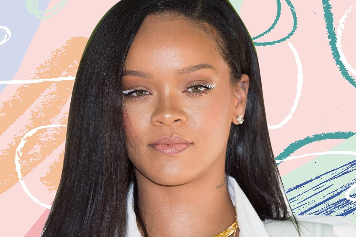 مدل آرایش با خط چشم سفید
