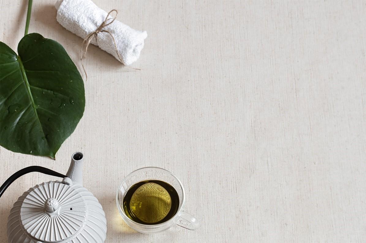 جلو گیری از بوجود آمدن لک های صورت با دمنوش چای سبز