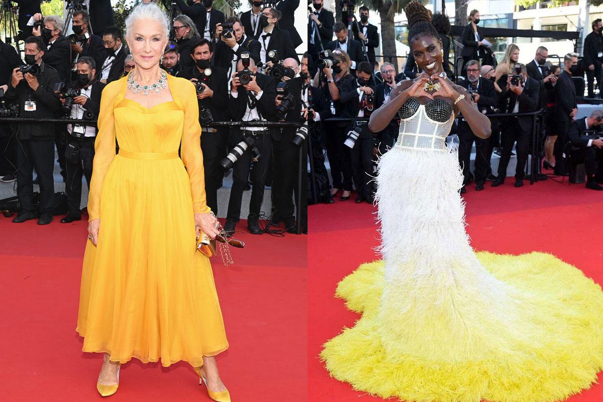 لباس بازیگران در جشنواره کن 2021