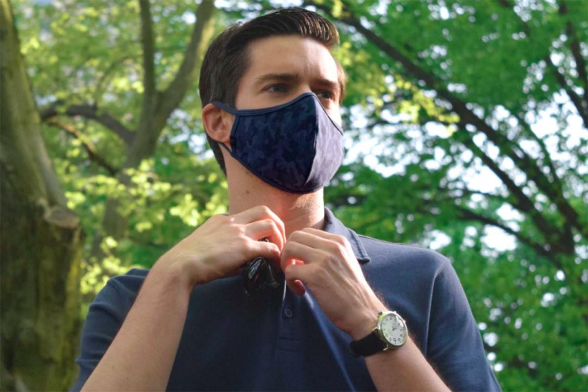مدل ماسک پارچه ای شیک