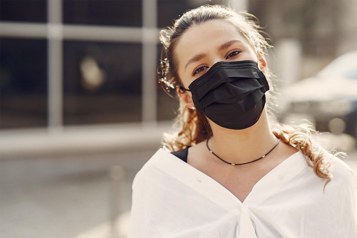 مدل ماسک مشکی
