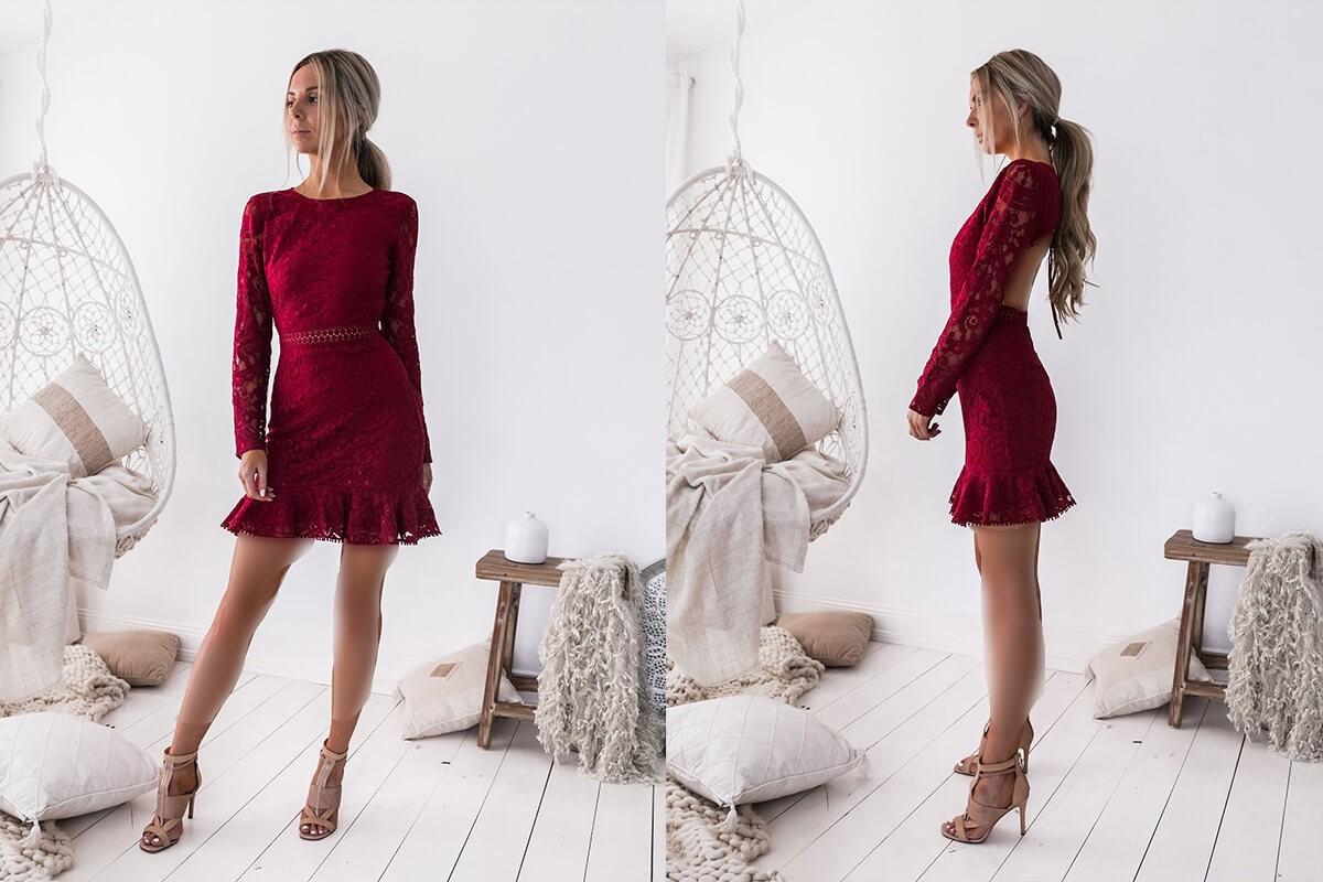 مدل لباس شب کوتاه مدل جدید