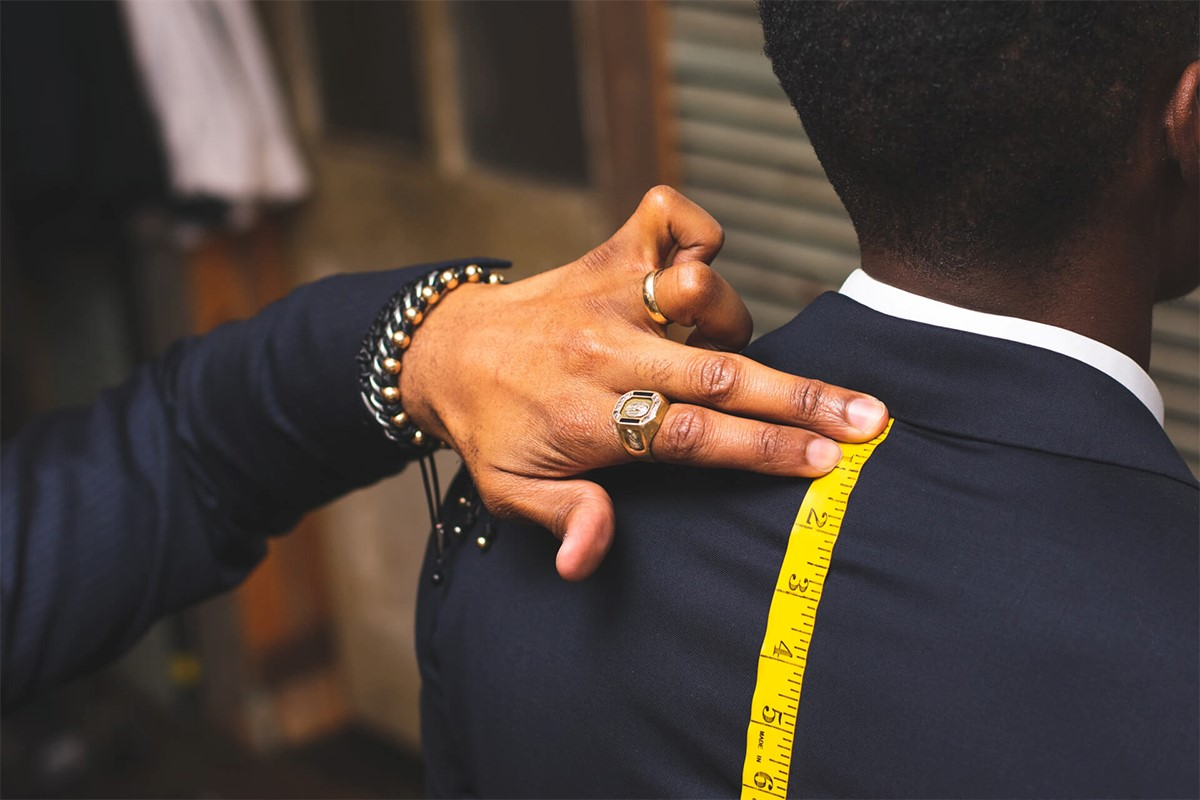 سایز لباس مردانه
