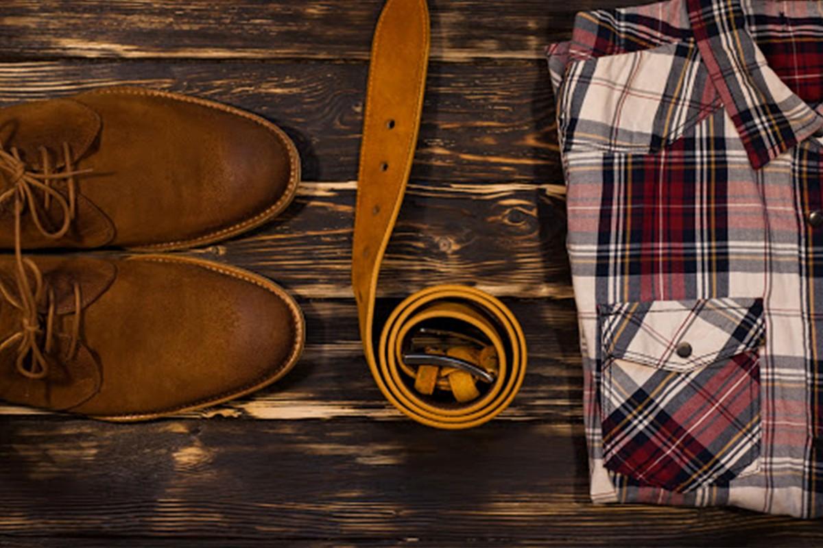 مدل پیراهن چهارخانه قرمز مردانه