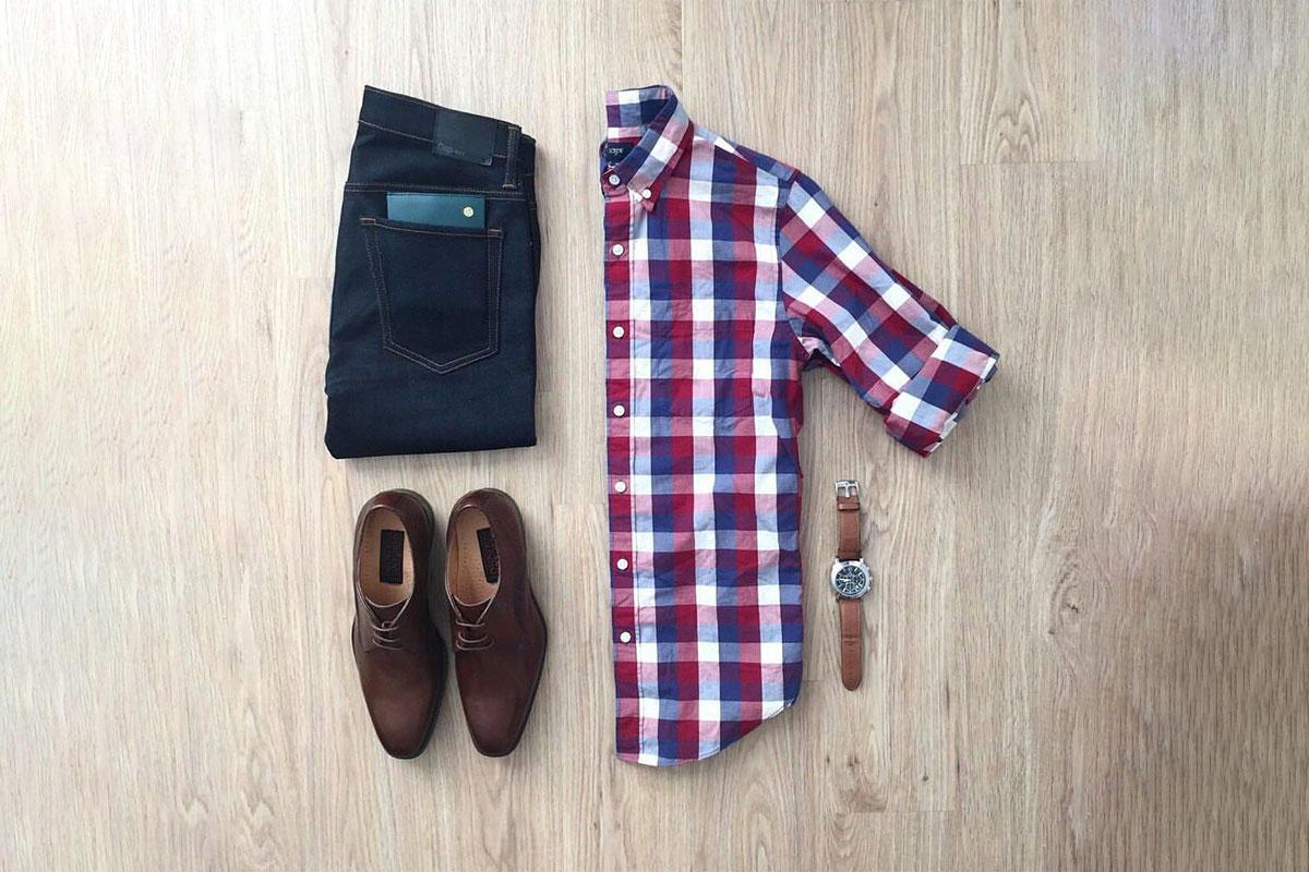 مدل پیراهن چهارخانه مردانه جدید