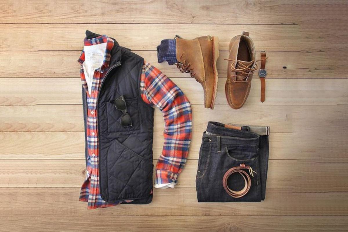 پیراهن چهارخانه مردانه پاییزه