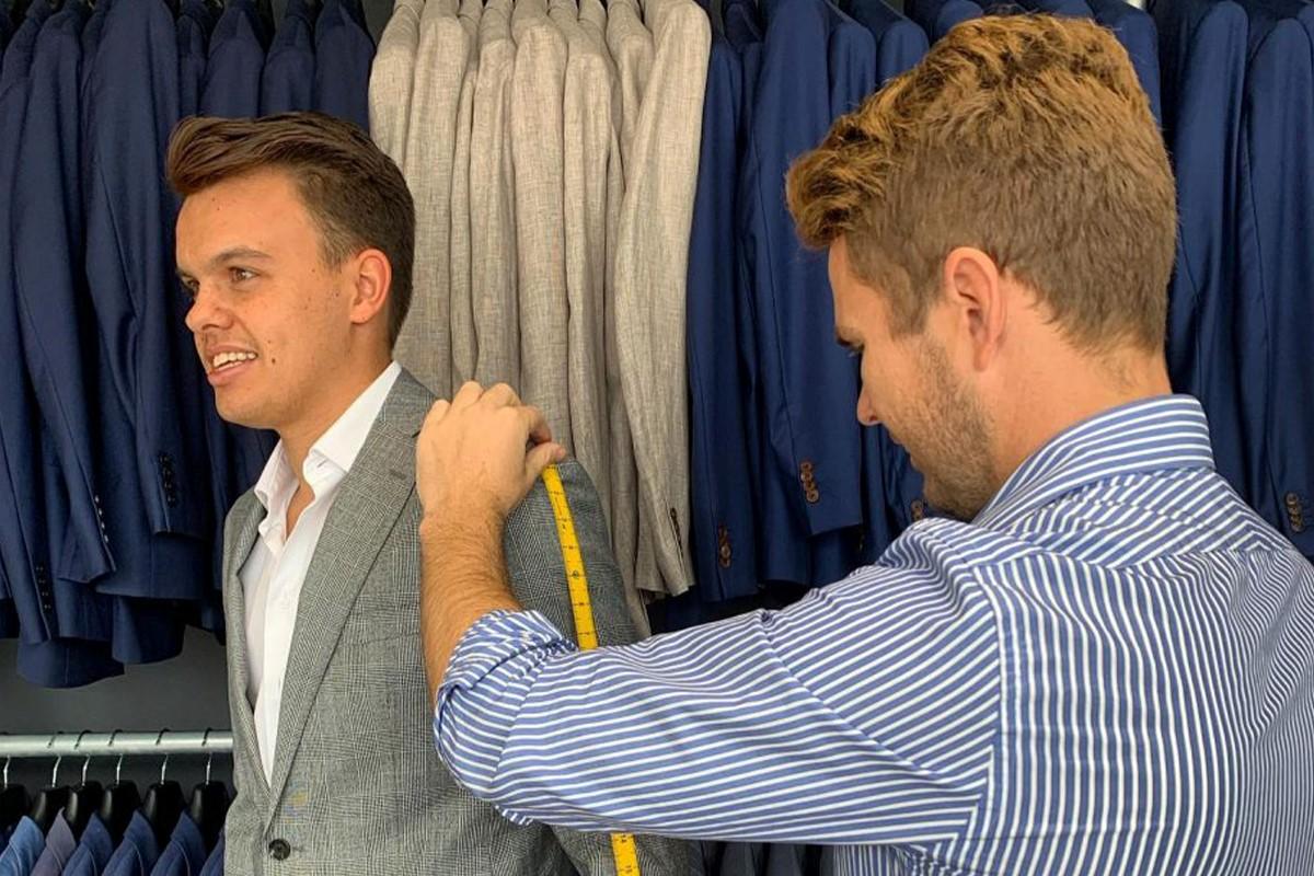 سایز گیری لباس مردانه