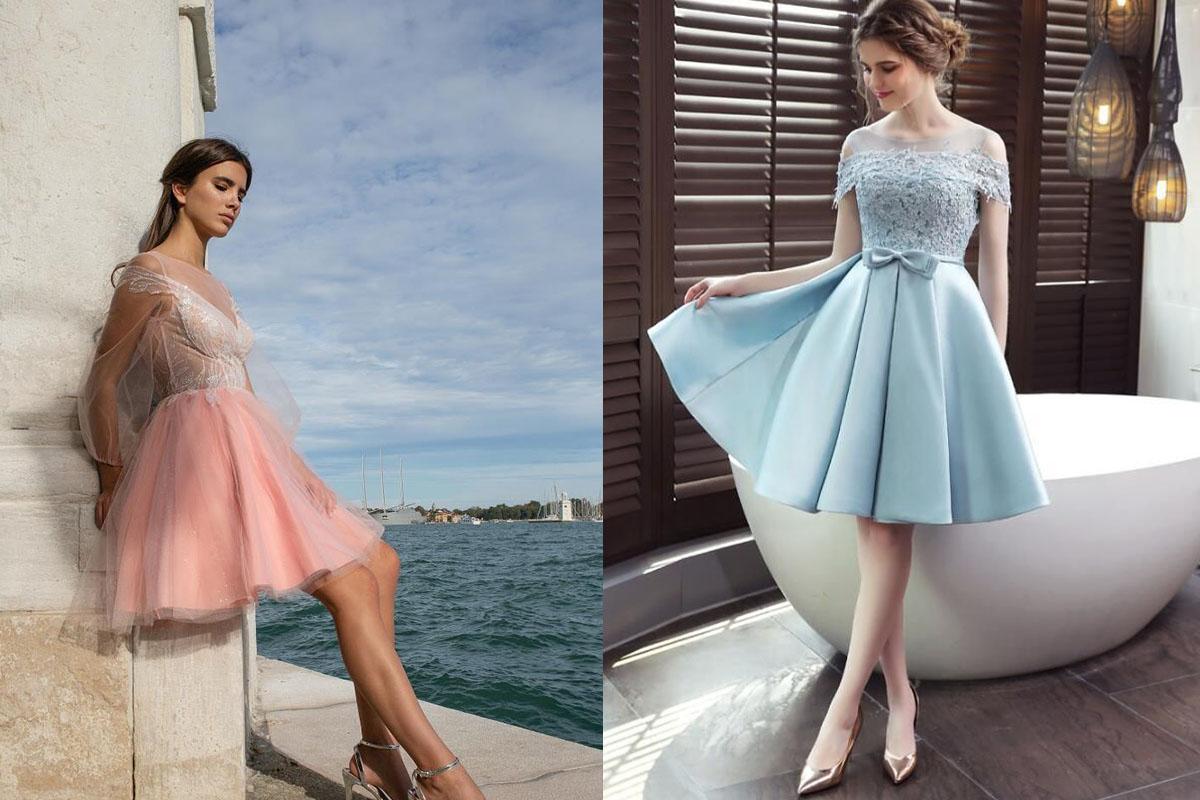 خانم های لاغر لباس مجلسی چی بپوشند