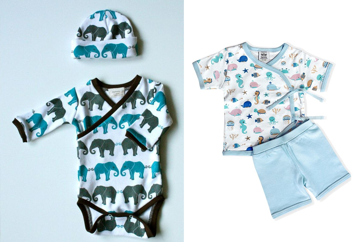 لباس تابستانی نوزادی