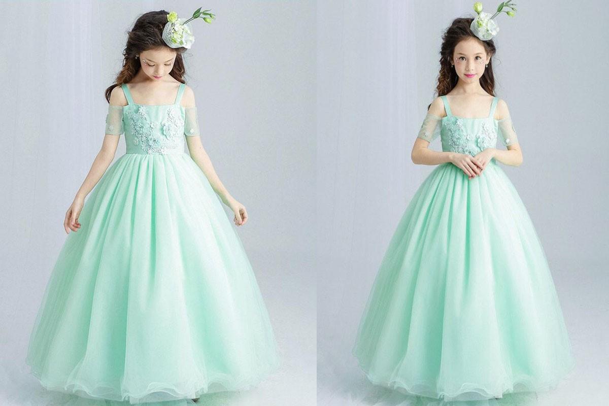 مدل لباس مجلسی دخترانه توری