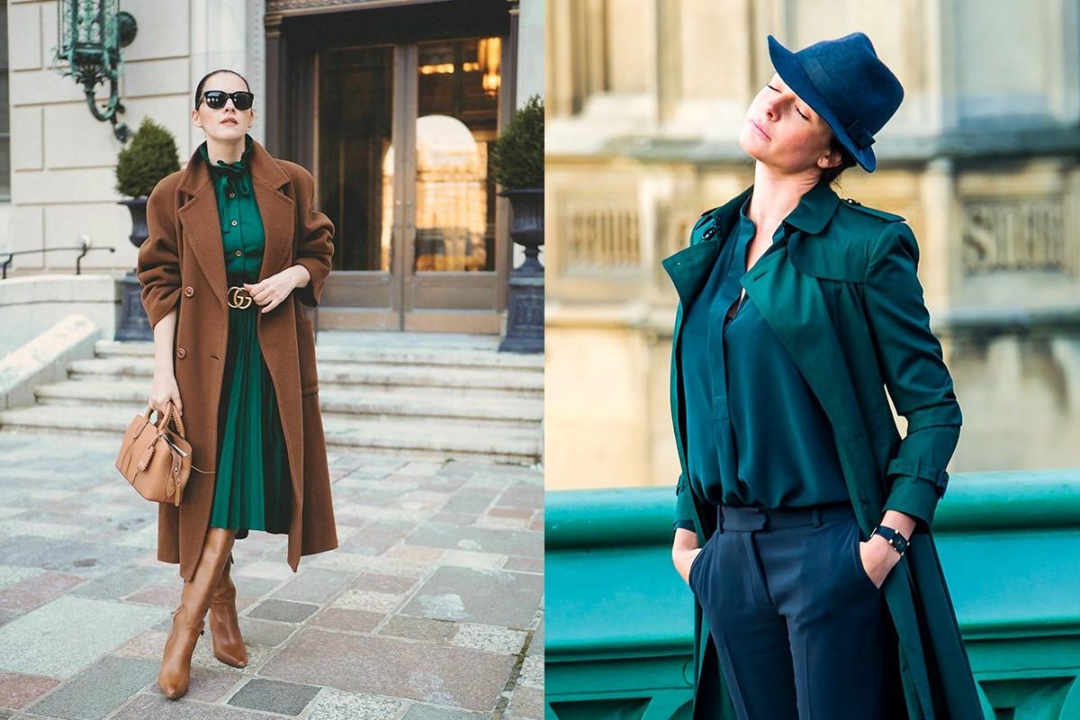 ست کردن لباس سبز کله غازی
