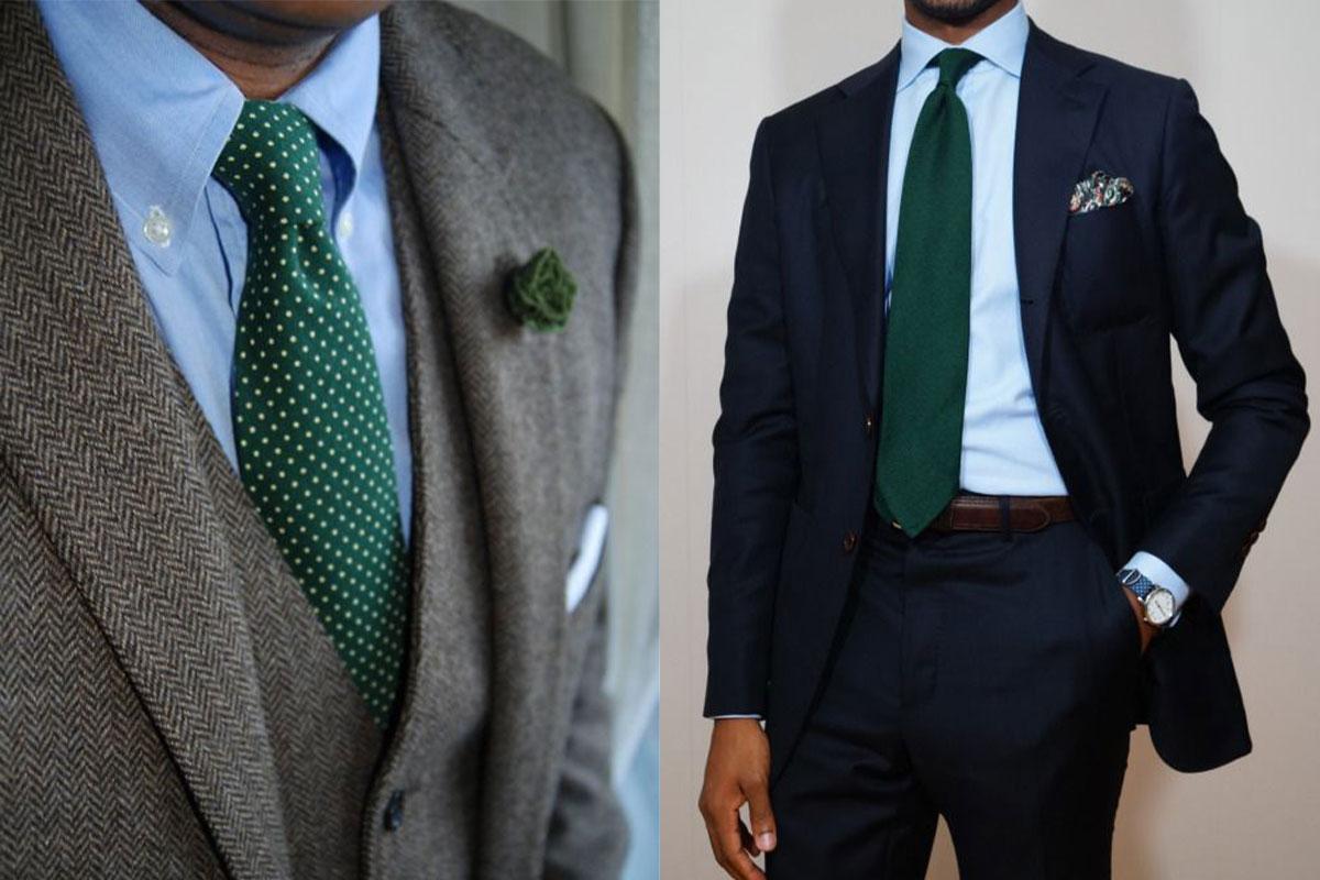 مدل بستن کراوات ساده