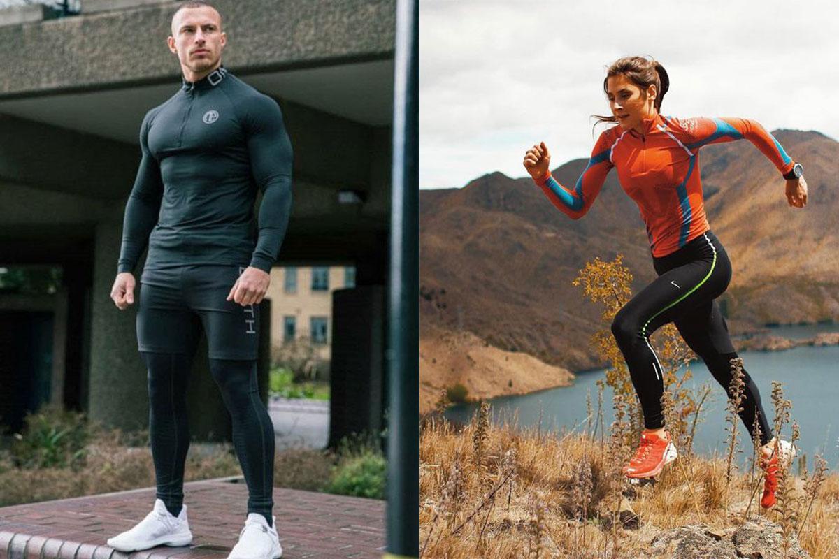 مدل لباس ورزشی مردانه و زنانه