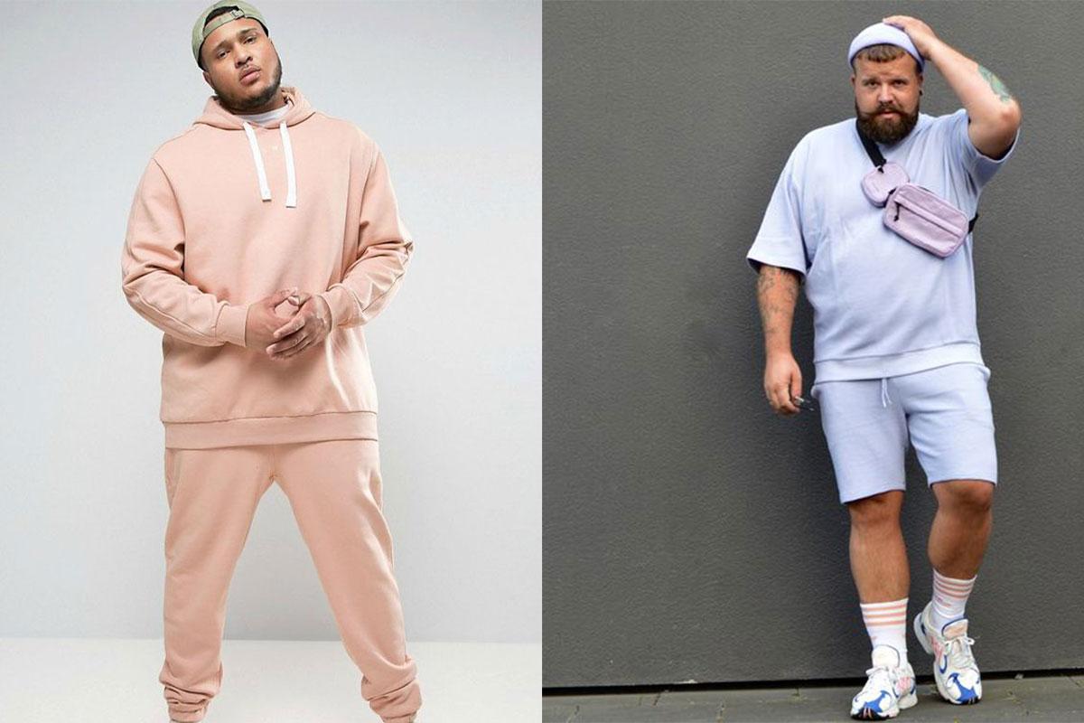 لباس ورزشی سایز بزرگ مردانه