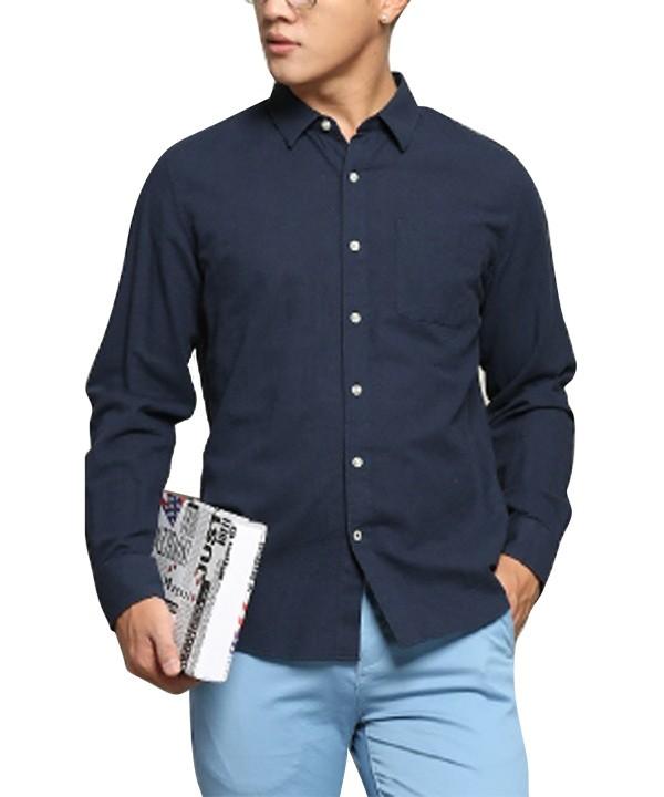 پیراهن آستین بلند مردانه جین وست- بانی مد