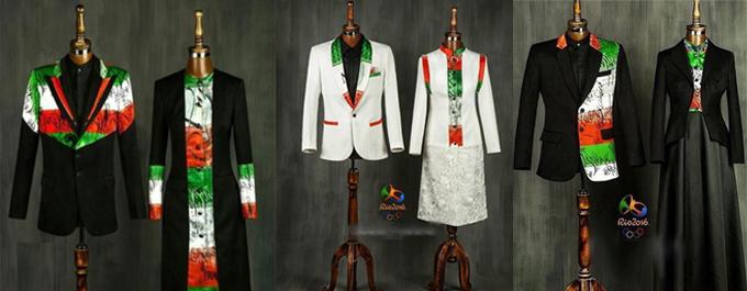 طرح نهایی لباس المپیک ایران