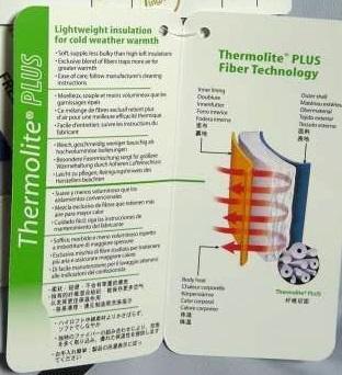thermolite fiber technology